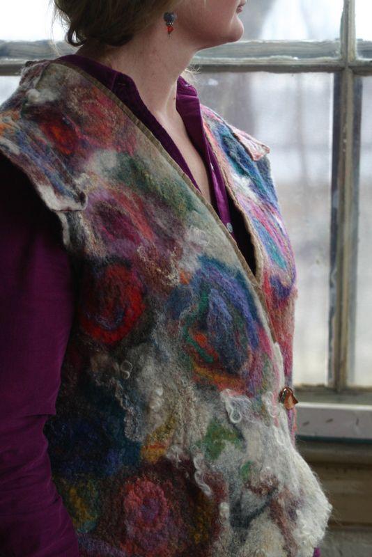 RBC, Roses Vest (detail)
