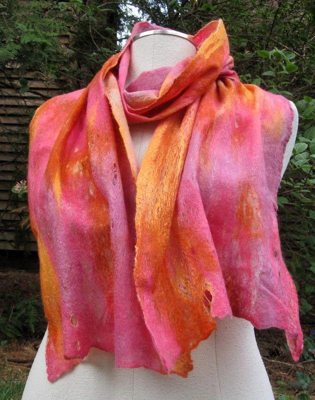 RBC, Cobweb Scarf, silk merino scarf