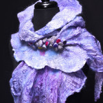 """""""orchid"""" scarf"""