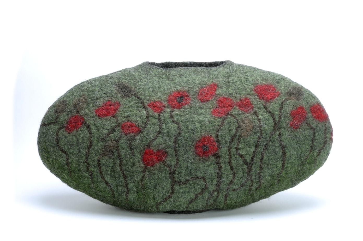 poppy vessel