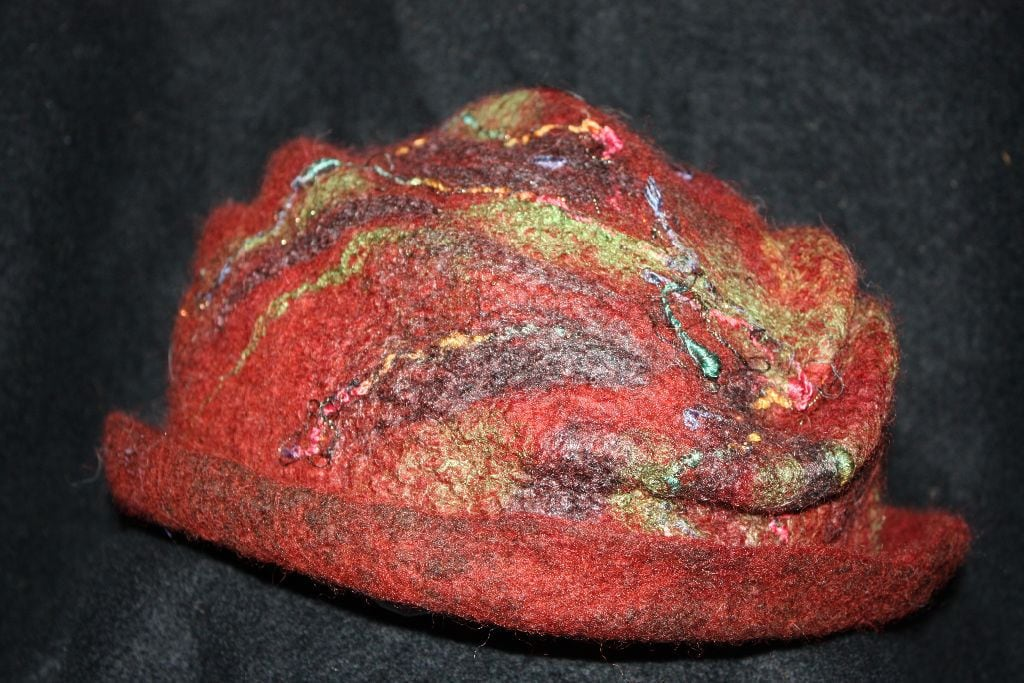 Felted Hats 2012 (17)