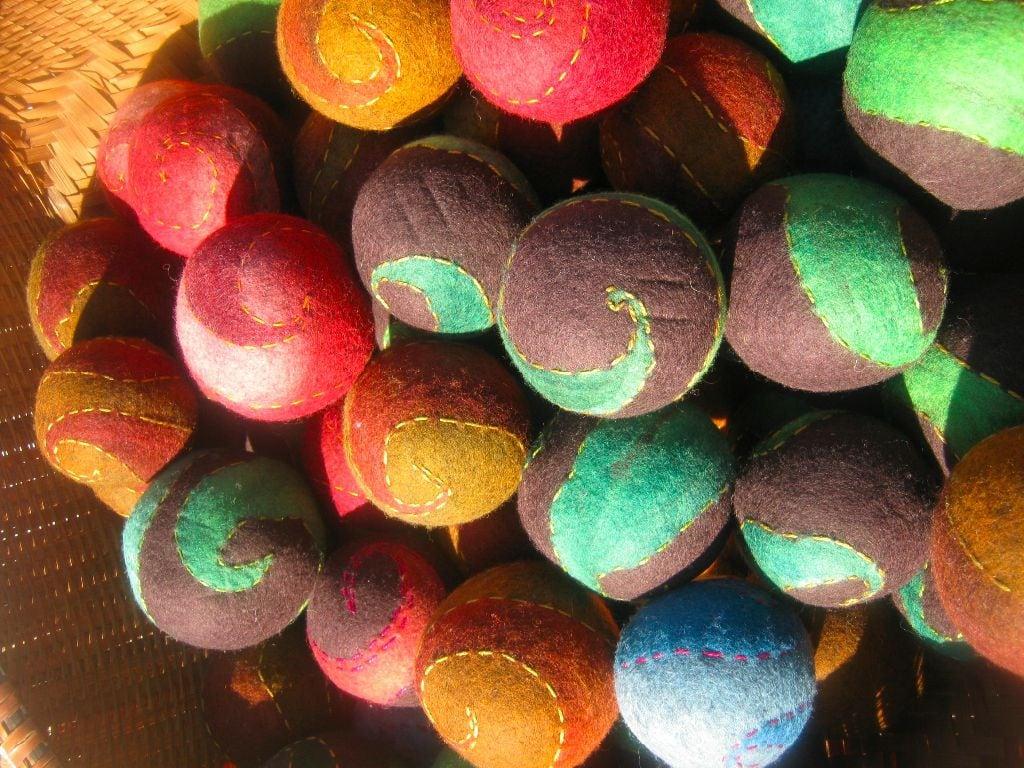 felt balls 2011