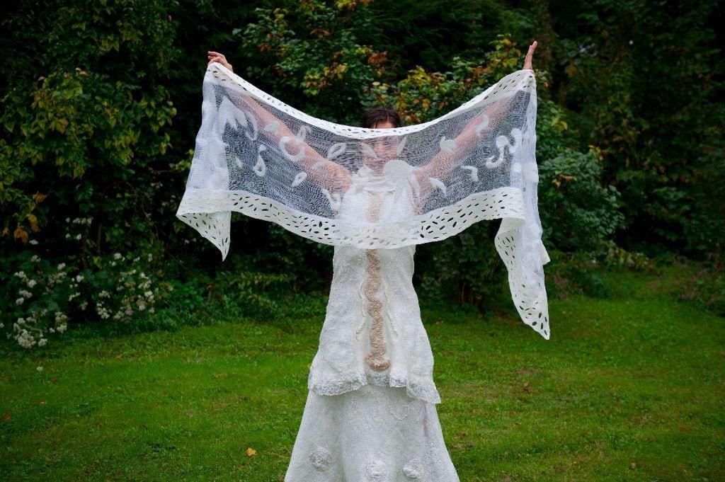 Bridal Shawl2