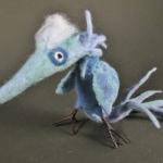 Grumpy Blue Bird