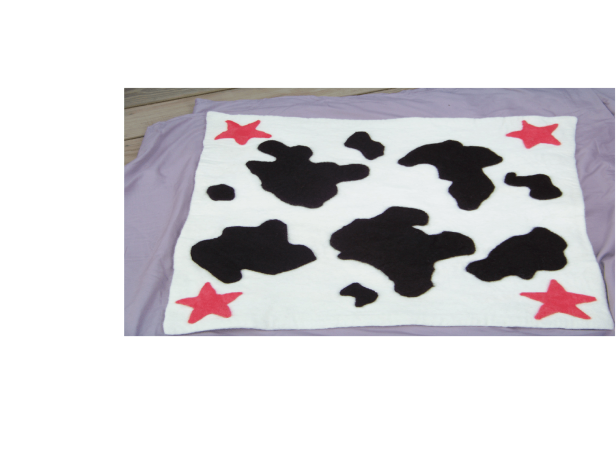 Cowprint-baby-blanket