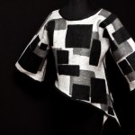 Black/White Pullover