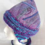 Purple Peruvian Hat