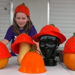 children's pumpkin hats