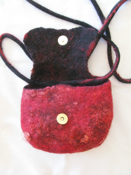 Felted Evening Bag