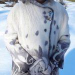 Warm Winter Coat - Merino and Silk