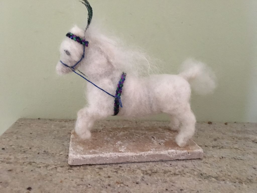 Felted pony