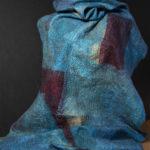 Blue Block Wrap