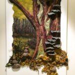 Felt Landscape: Fungus Tree