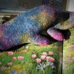 Monet's Garden Mittens