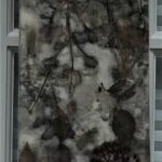 Wool Eco-dyed Wall hanging