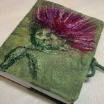 Felted journal.