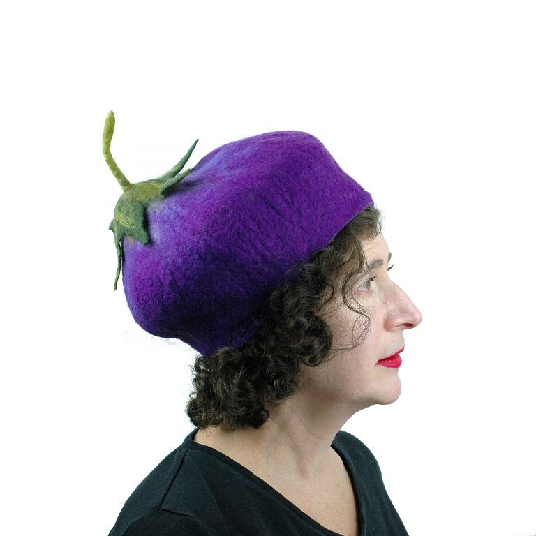 Juliane-Gorman_purple-eggplant-hat-with-stem