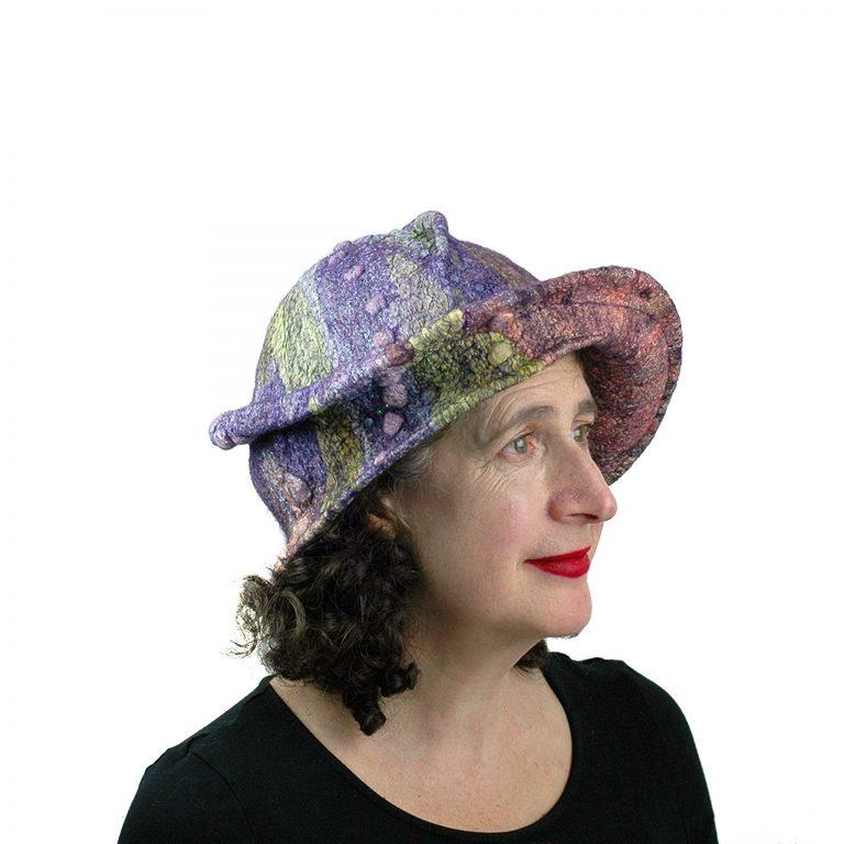 Juliane-Gorman_purple-jewel-toned-brimmed-hat
