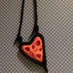 Heart pendant.