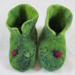 Ladybug Booties